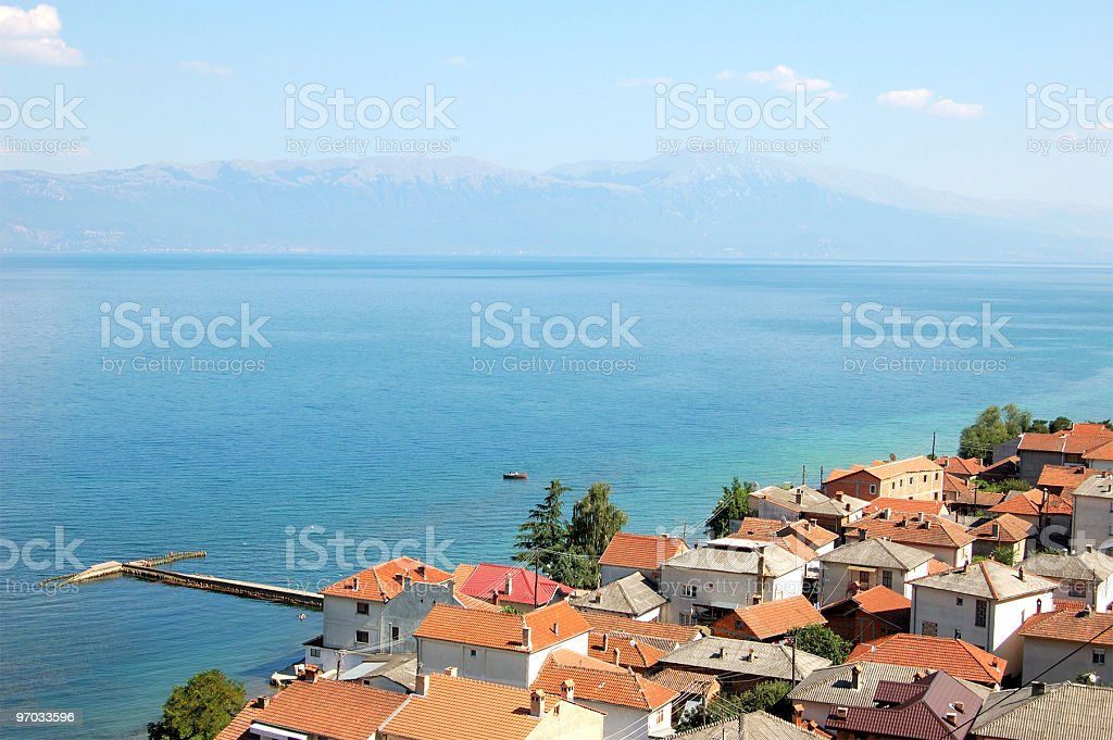 Sea City stock photo