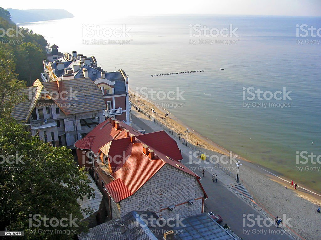 Sea coast , City stock photo