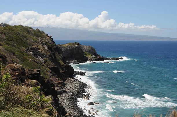 küste, hawaii - patrick hutter stock-fotos und bilder