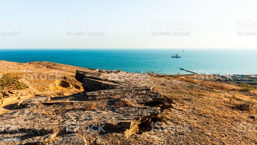 Sea coast stock photo