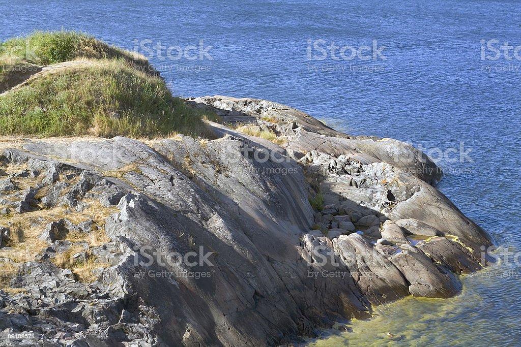 Sea coast royalty-free stock photo