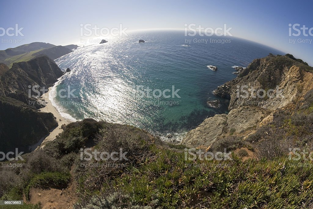 Sea covered planet royalty-free stock photo