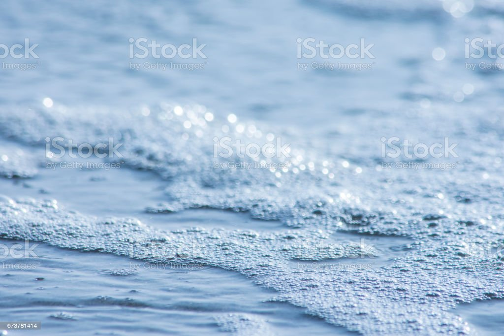 Sea Foam royalty-free stock photo