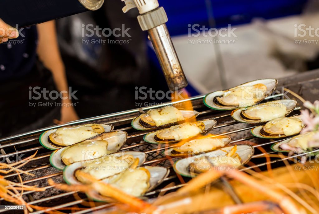sea food on market royalty-free stock photo