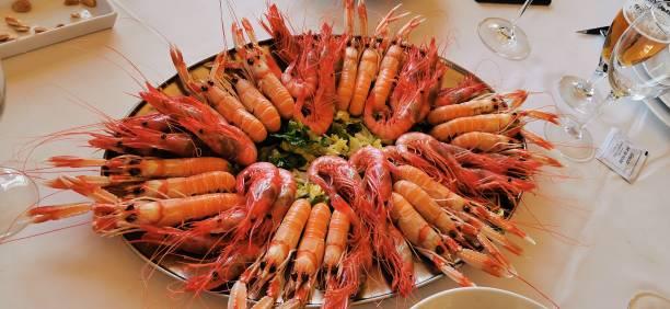La comida de mar - foto de stock