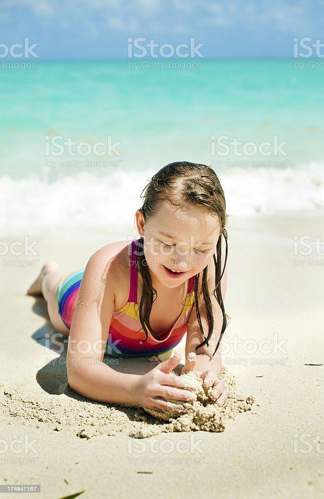 Sea fun royalty-free stock photo
