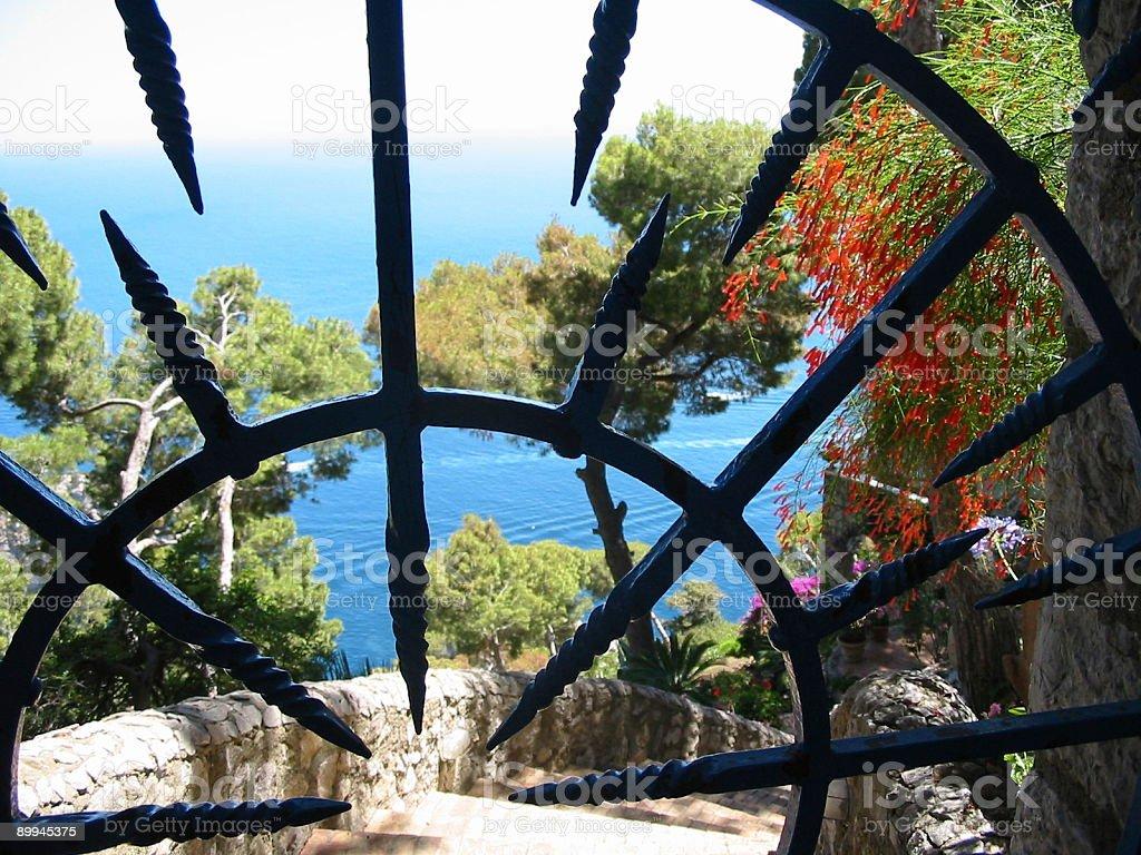 sea gate royalty-free stock photo