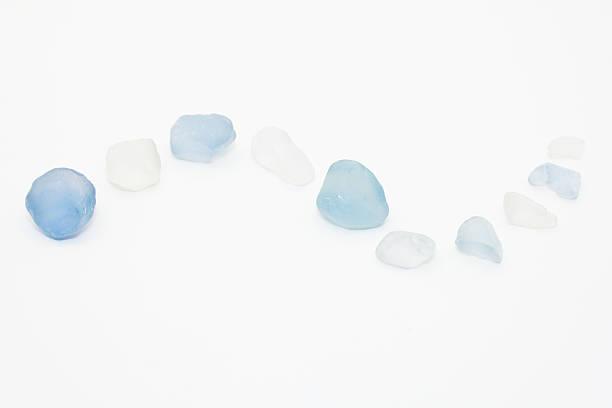 Sea Glass Curve stock photo