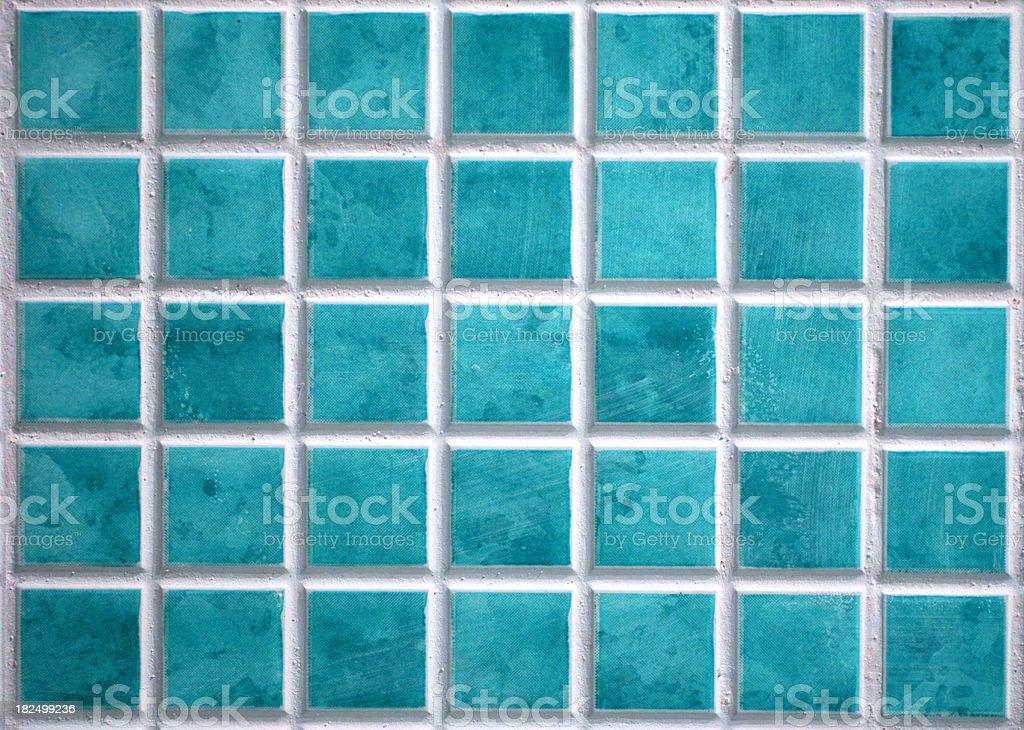 Sea green tiles royalty-free stock photo
