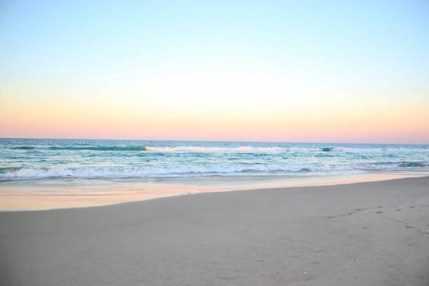 havet horisonten havet tropisk sommar rosa sky - pink sunrise bildbanksfoton och bilder