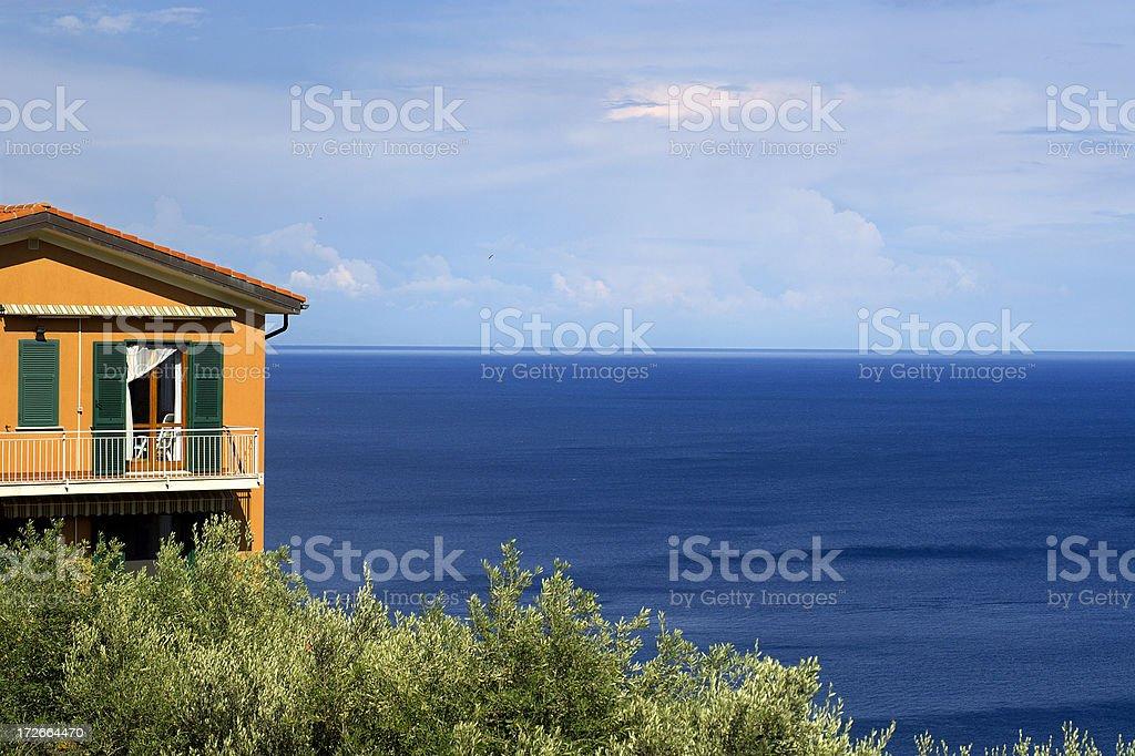 Sea House 3 royalty-free stock photo