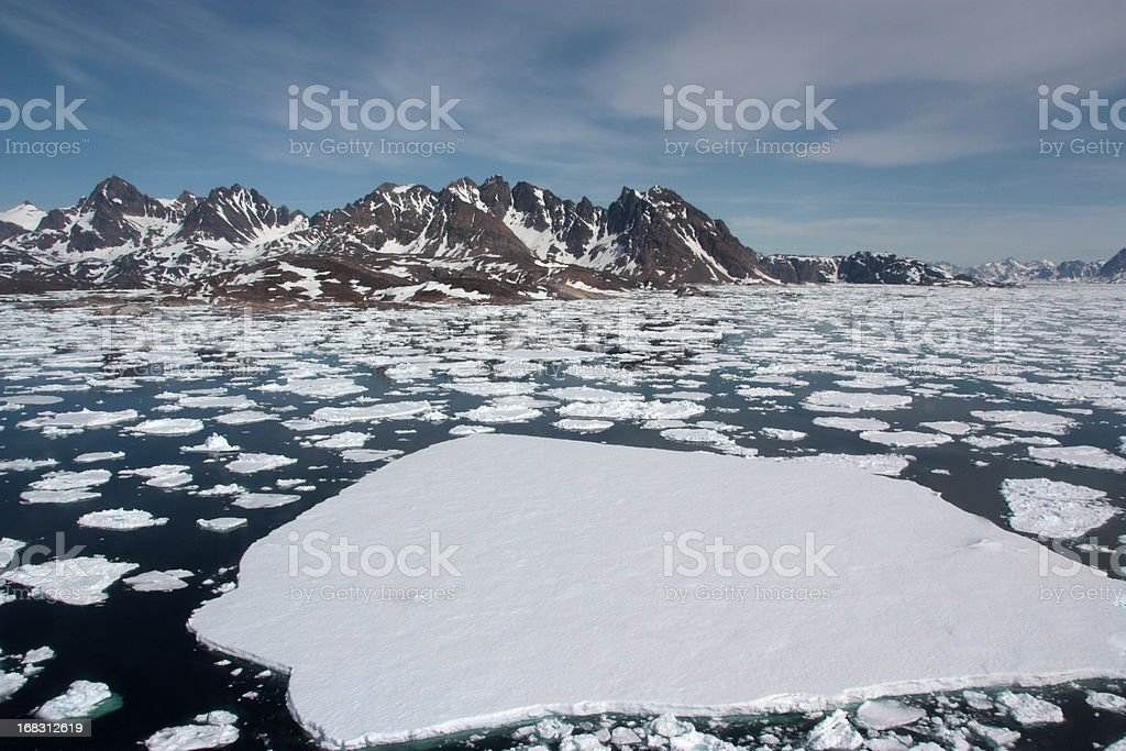 Sea Ice stock photo