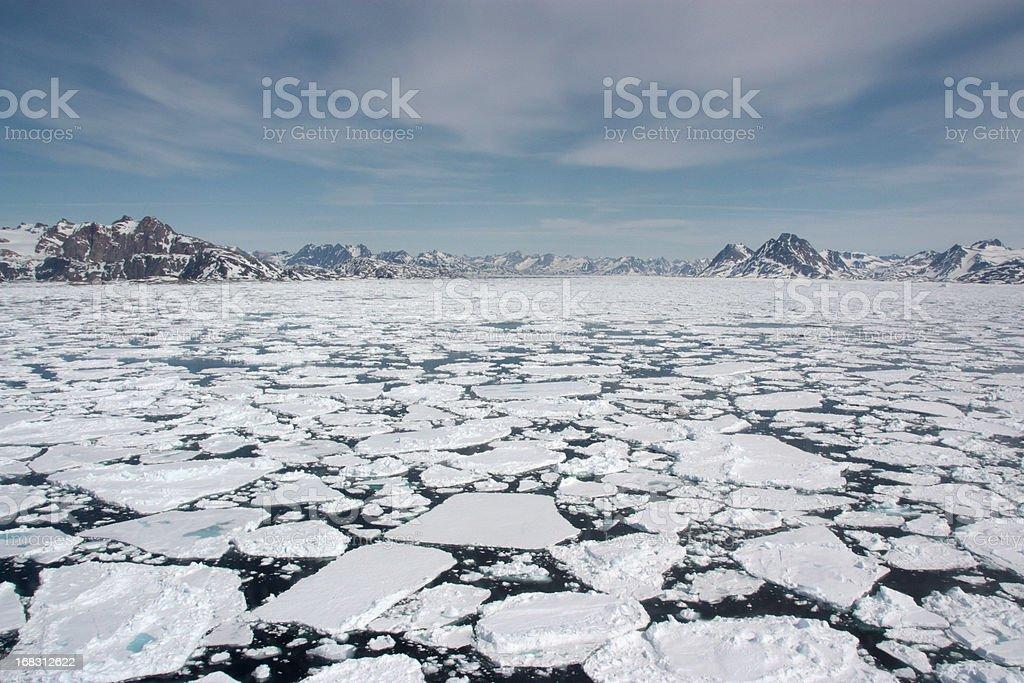 Sea Ice - Royalty-free Ammassalik Stockfoto