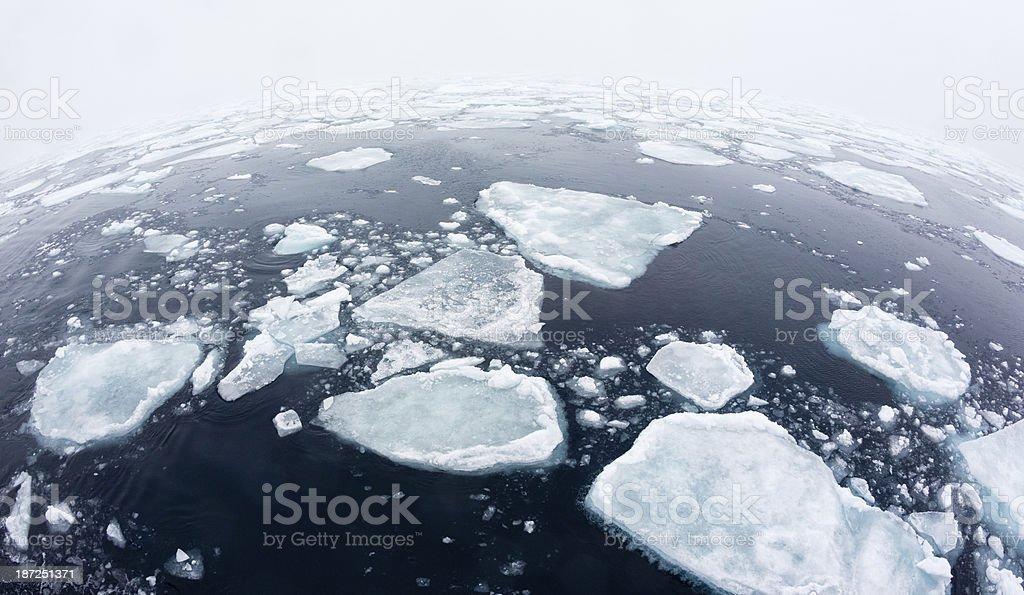 Sea Ice stock photo