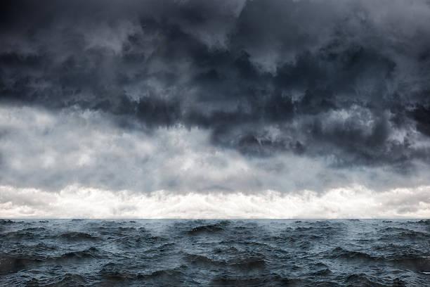 Meer in einem Sturm – Foto