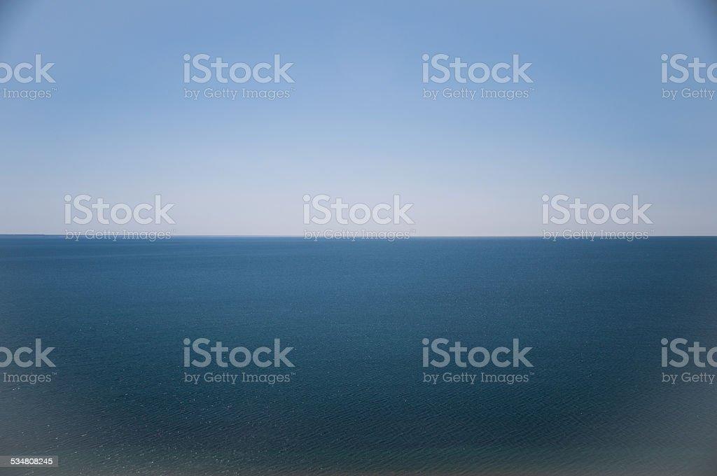 Al mar en puerto madryn argentina - foto de stock