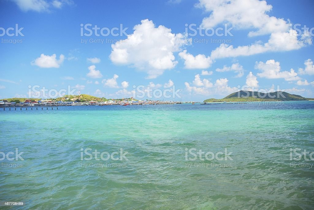 Sea in Thailand royalty-free stock photo