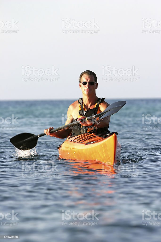 Sea Kayak 1 royalty-free stock photo