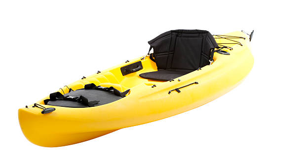 Sea Kayak - with clipping path stock photo