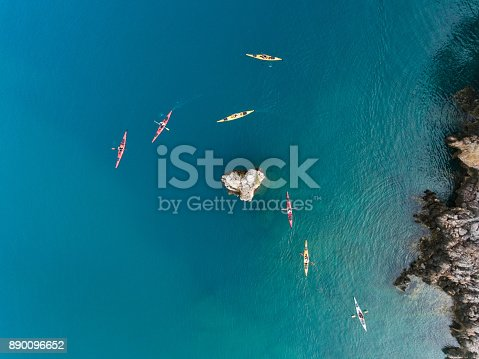 istock Sea kayaking in the mediterranean 890096652