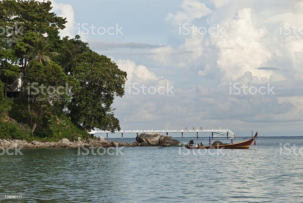 Sea landscape, Phuket, Thailand royalty-free stock photo