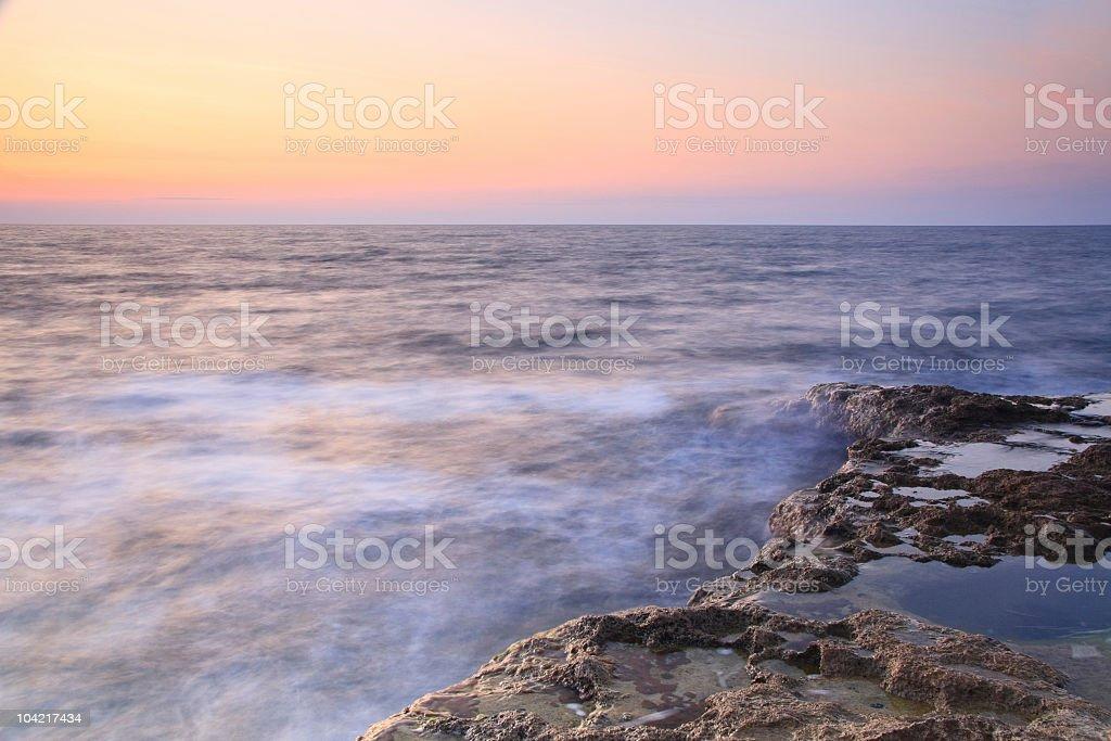sea landscape royalty-free stock photo