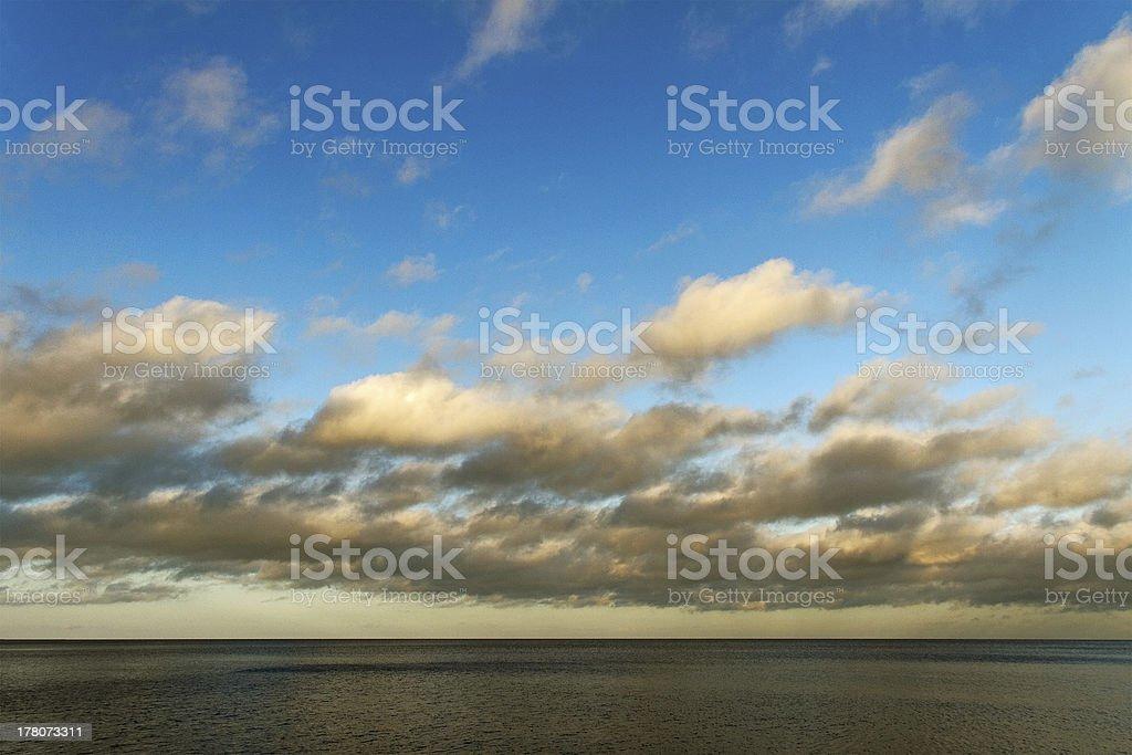 Sea landscape. royalty-free stock photo