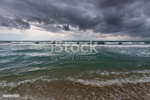 Sea Landscape Stock Photo & More Pictures of Angle