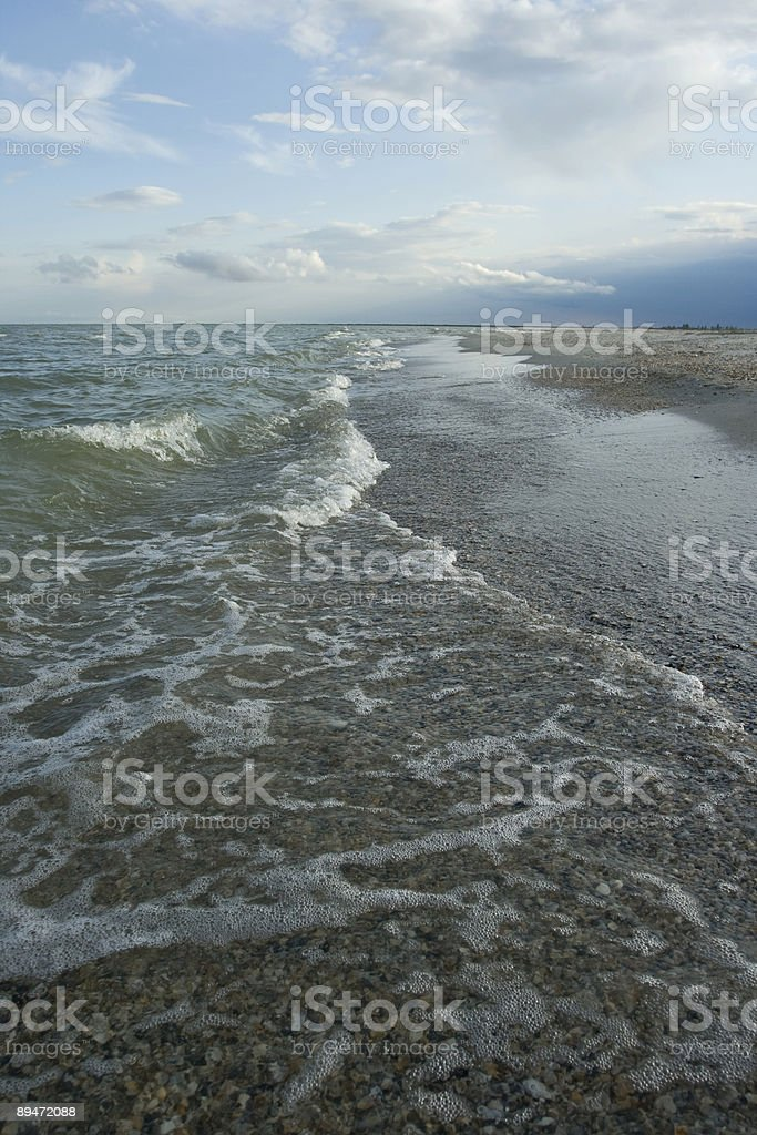 Sea landscape royalty-free stock photo