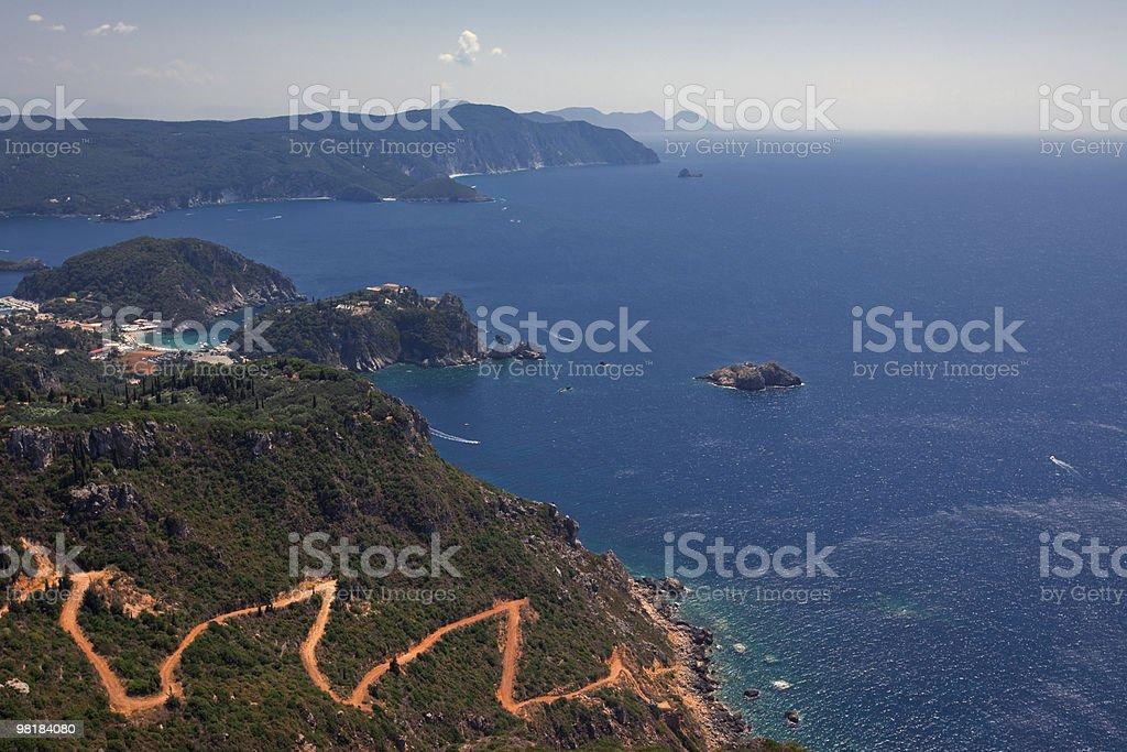 Paesaggio di mare foto stock royalty-free