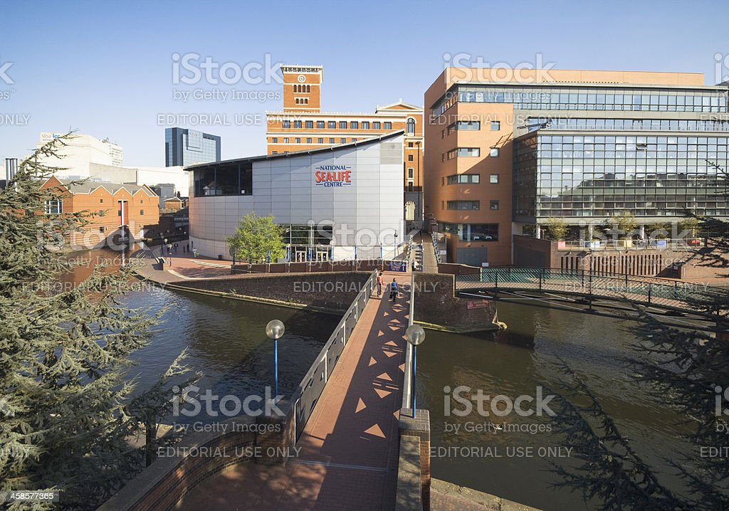 Sea Life Centre in Central Birmingham UK stock photo