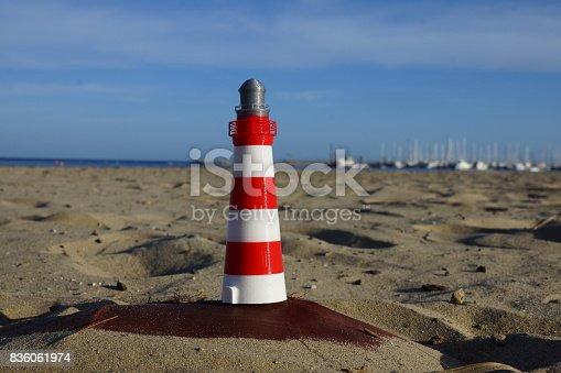 istock Sea Lighthouse 836061974
