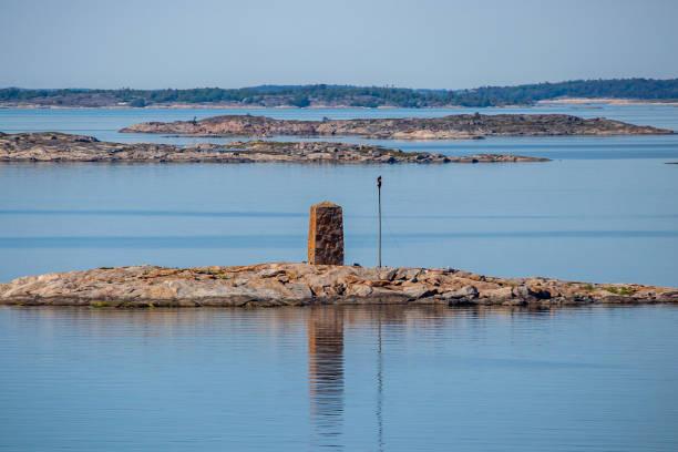 Seezeichen in Finnland. – Foto