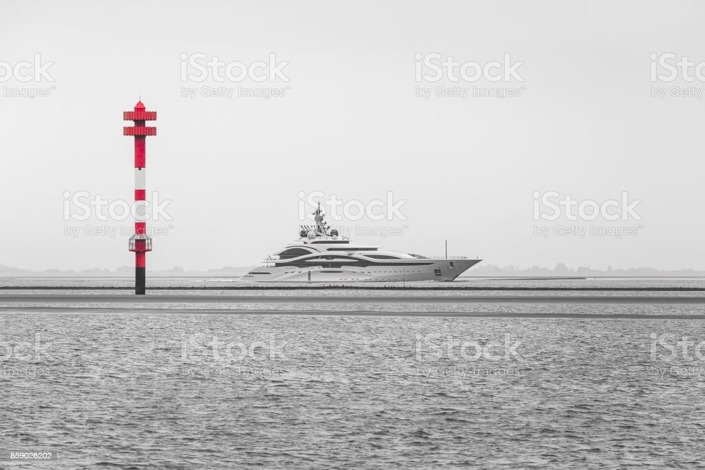 Sea mark Solthörn stock photo