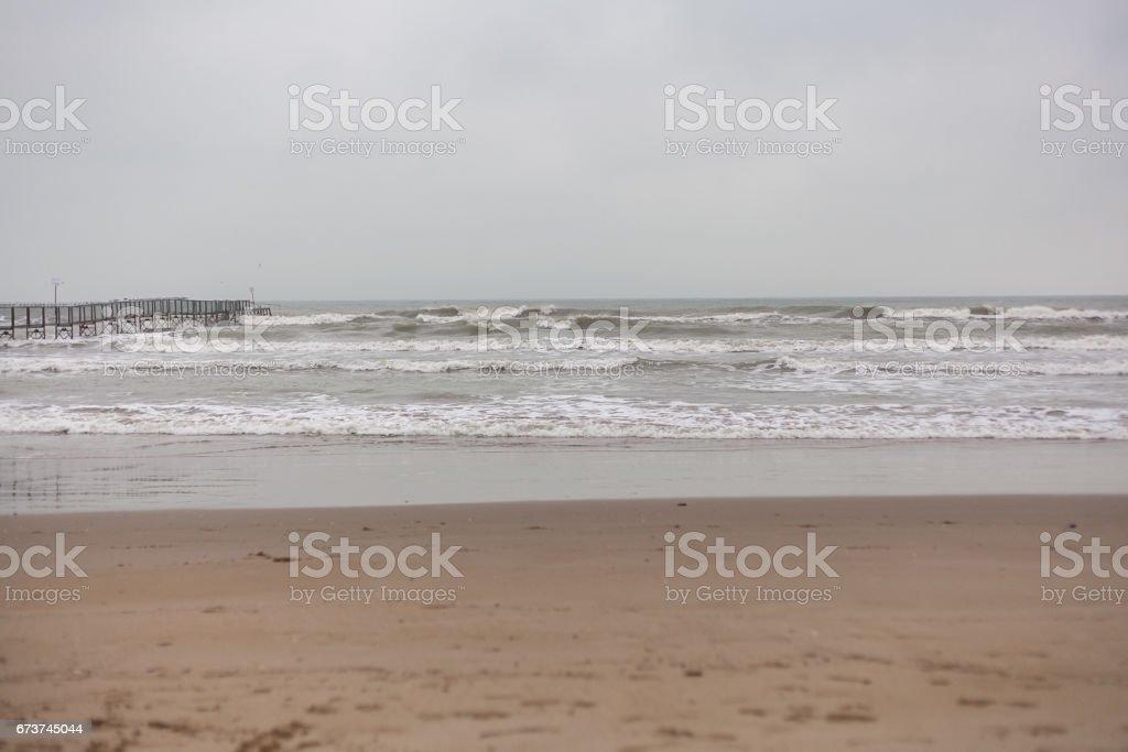 Deniz kötü hava royalty-free stock photo