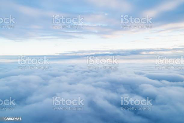Photo of Sea Of Clouds above the stratosphere