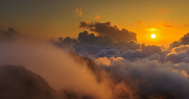 Meer mit Wolken wie paradise – Foto