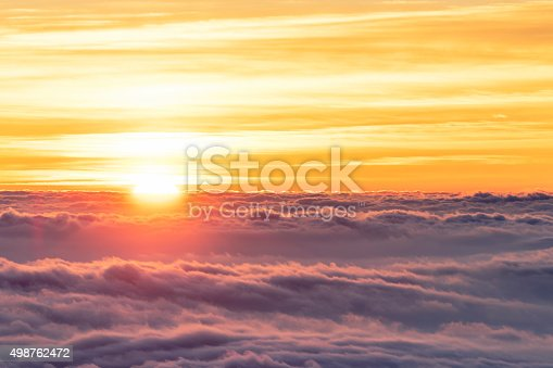 istock Sea of Clouds 498762472
