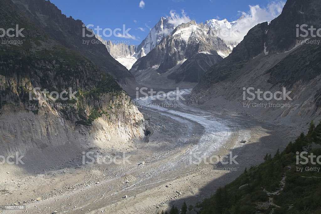 Mer de Glace royalty-free stock photo