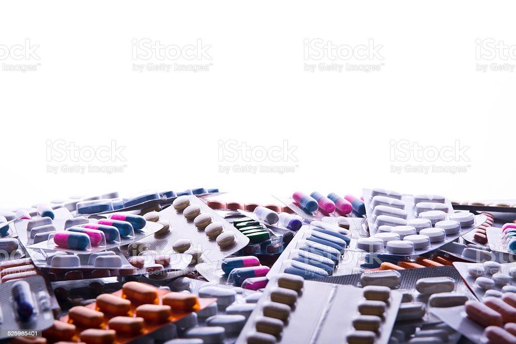 Mar de pastillas - foto de stock