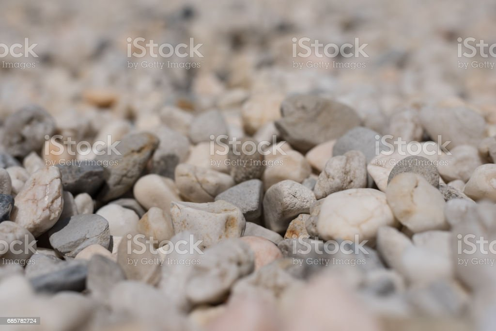 A sea of rocks royalty-free stock photo