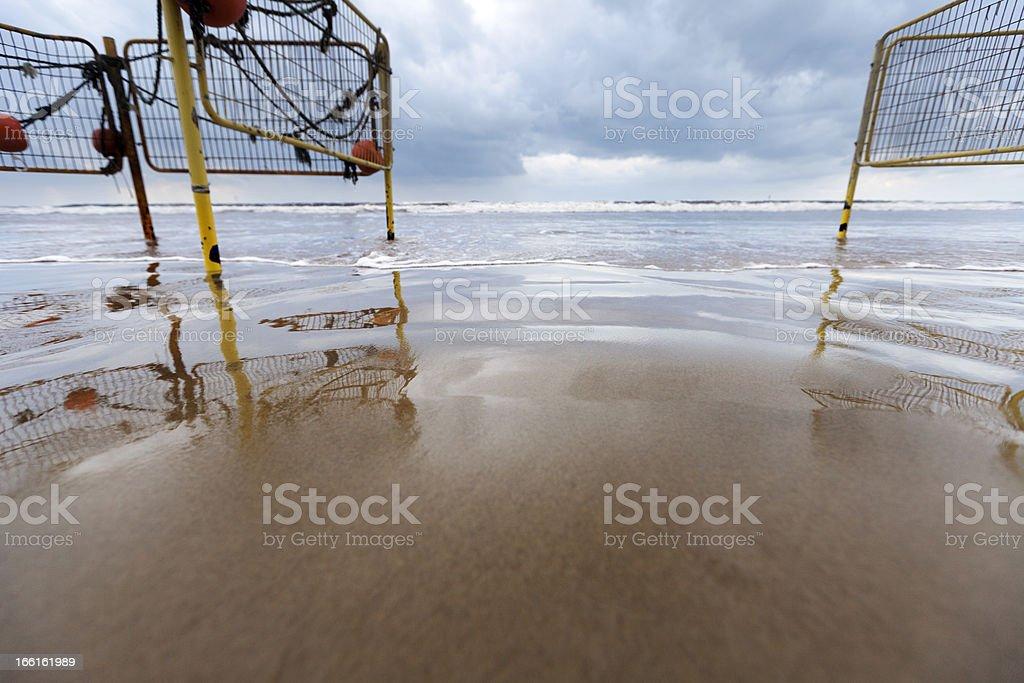 Sea Opening stock photo