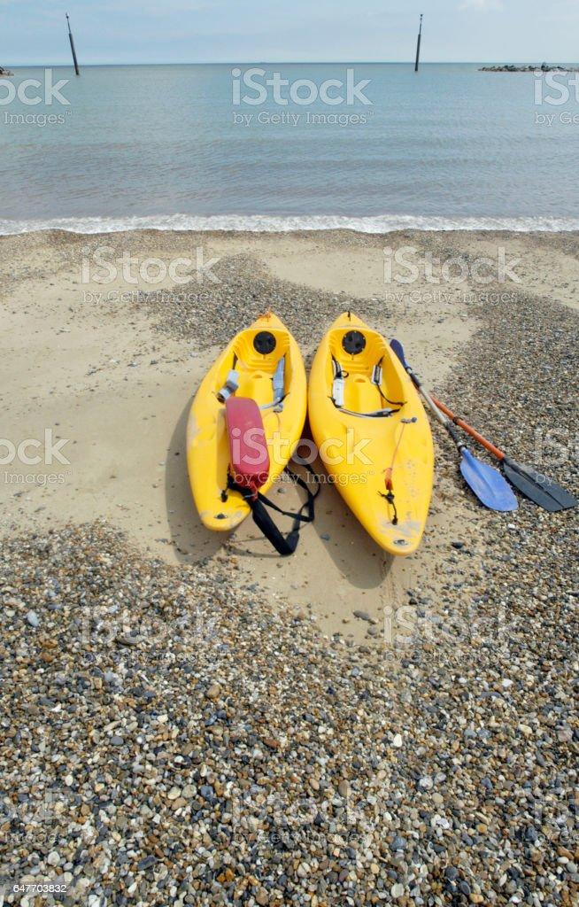 Sea Palling stock photo