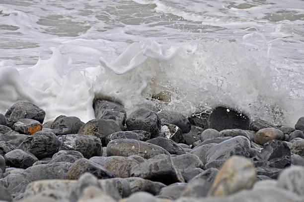 Sea & Pebbles stock photo