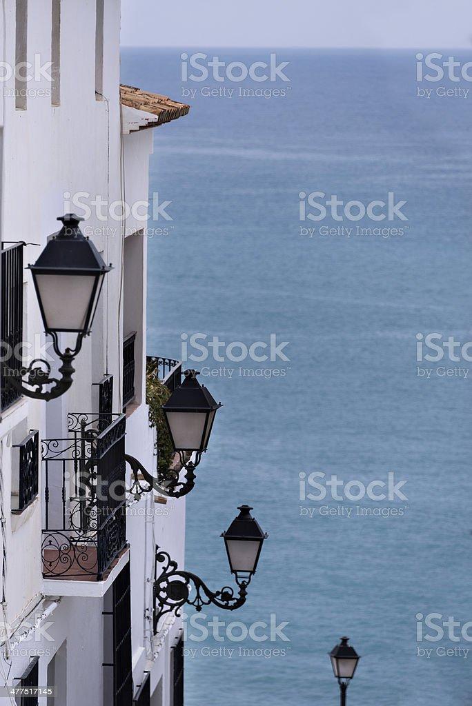 Al mar - foto de stock