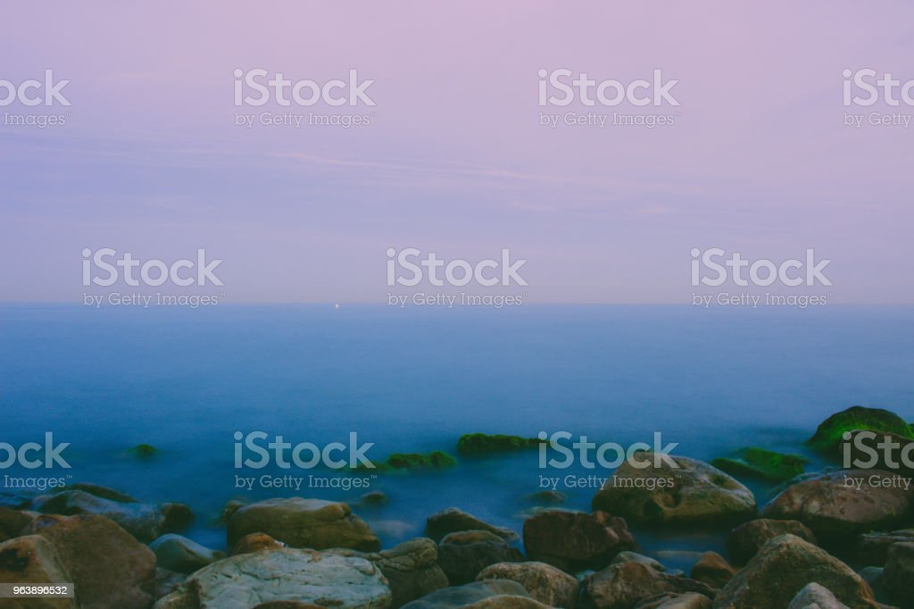 Sea. - Royalty-free Aerial View Stock Photo