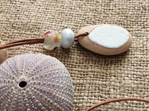 Sea Pottery Necklace