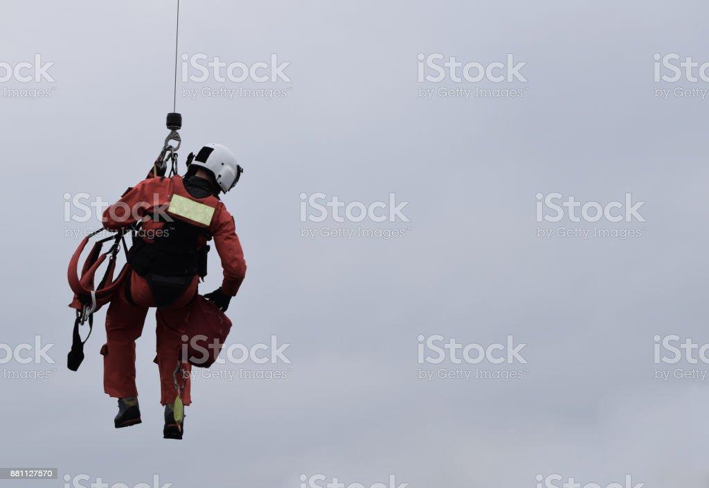 Sea Rescue stock photo