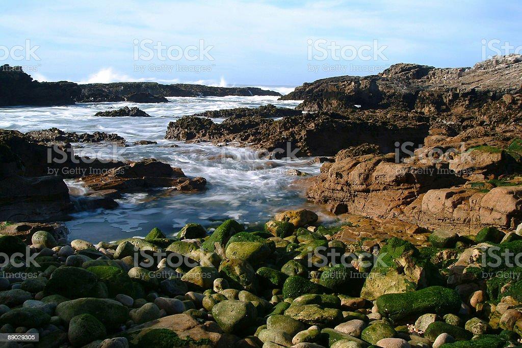 Sea Rocks and water royalty-free stock photo