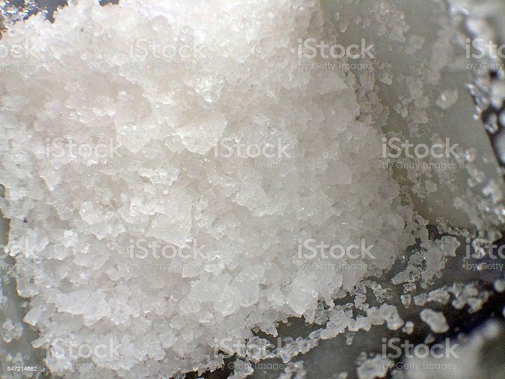 sea salt, Fleur de Sel stock photo